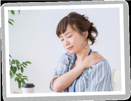肩こり・首痛のイメージ写真